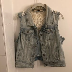 Jean Jacket Vest - Anthropologie
